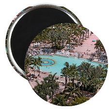 Paradise Island Pool - Magnet