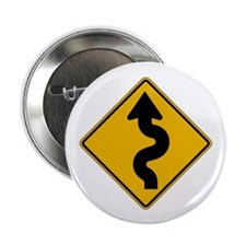 "Winding Road - USA 2.25"" Button (10 pack)"