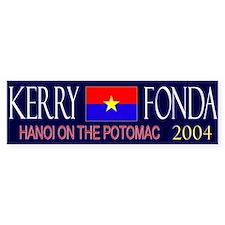 Kerry Fonda 2004 Bumper Bumper Sticker