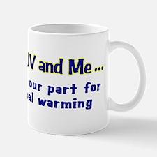 My SUV and me - Gal Mug