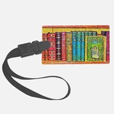 Library Luggage Tag
