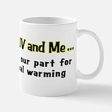 My SUV and me - Guy Mug