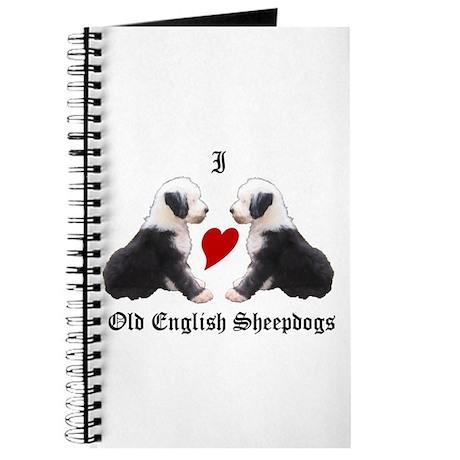 I love Sheepdogs Journal