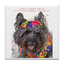 Key West Cairne Terrier Tile Coaster