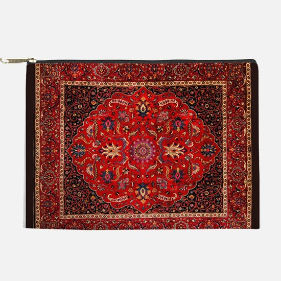 Persian Mashad Rug Makeup Pouch