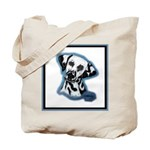 Dalmatian Head Study Tote Bag