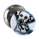Dalmatian Head Study Button