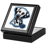 Dalmatian Head Study Keepsake Box