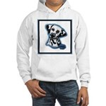 Dalmatian Head Study Hooded Sweatshirt