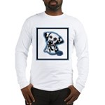 Dalmatian Head Study Long Sleeve T-Shirt