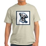 Dalmatian Head Study Ash Grey T-Shirt