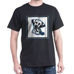 Dalmatian Head Study Dark T-Shirt
