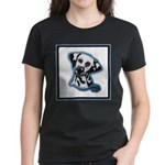Dalmatian Head Study Women's Dark T-Shirt