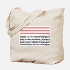 Emergency Broadcasting System Tote Bag