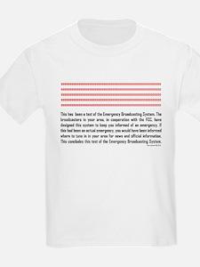 Emergency Broadcasting System Kids T-Shirt