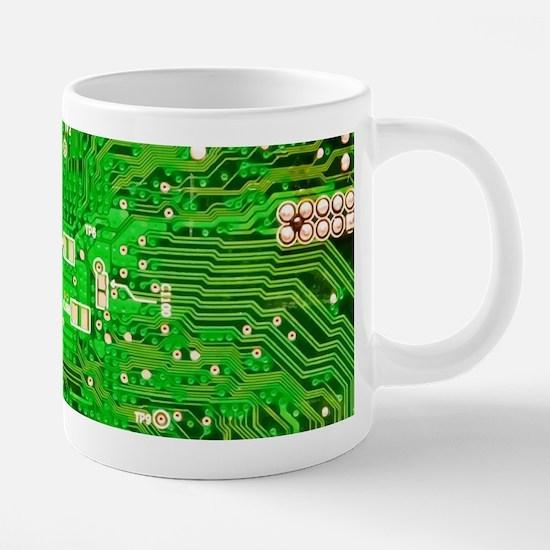 Circuit Board - Green Mugs