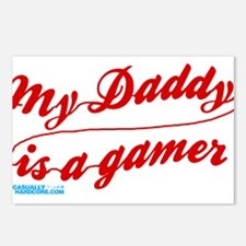 My Daddy Is A Gamer Postcards (Package of 8)