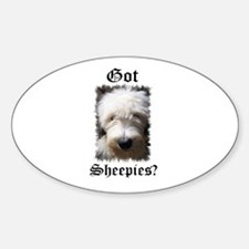 Got Sheepies? Oval Decal