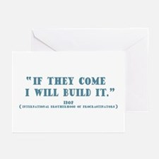 If They Come -tx Greeting Cards (Pk of 10)