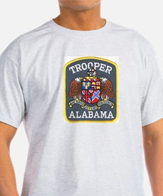 Alabama Trooper Ash Grey T-Shirt