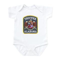 Alabama Trooper Infant Bodysuit