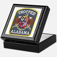 Alabama Trooper Keepsake Box
