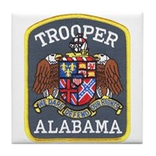 Alabama Trooper Tile Coaster