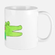 Preppy Alligator Girl Mug
