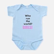 Who run the world? Girls! design Body Suit