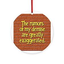 The Rumors... Ornament (Round)