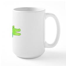 Alligator Blue Green Mug