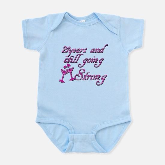 21 years anniversary Infant Bodysuit