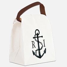 Rhode Island Anchor Canvas Lunch Bag