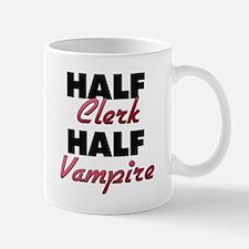 Half Clerk Half Vampire Mugs