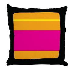 Bright Stripe Throw Pillow