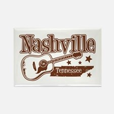 Nashville Tennessee Rectangle Magnet