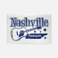 Nashville Tennessee Rectangle Magnet