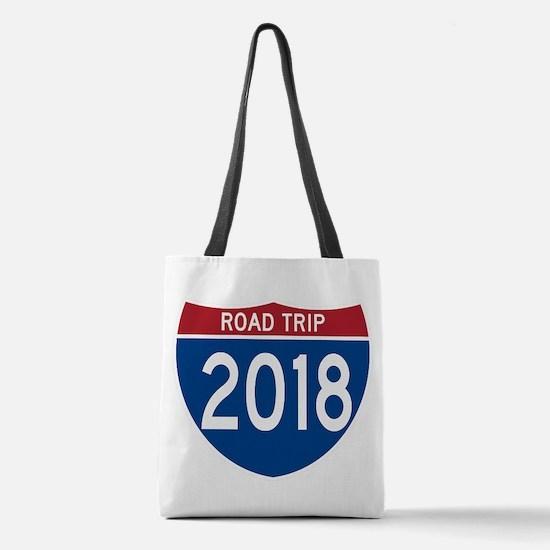 Road Trip 2018 Polyester Tote Bag