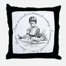 Writing Pen Ink Throw Pillow