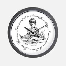Writing Pen Ink Wall Clock