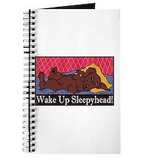 """""""Wake Up Sleepyhead"""" Dachshund Journal"""