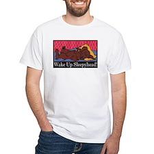 """""""Wake Up Sleepyhead"""" Dachshund Shirt"""