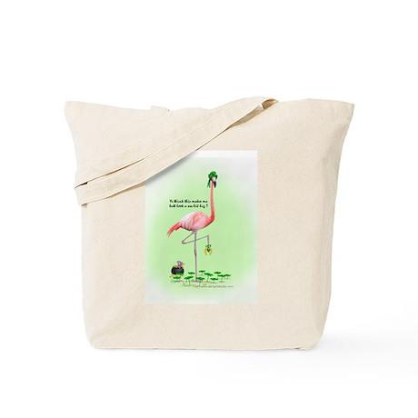 St Patrick's Day Flamingo Tote Bag