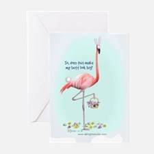 Easter Flamingo Greeting Cards (Pk of 10)