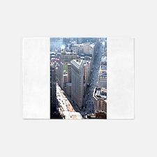 The Flatiron Building New York City 5'x7'Area Rug