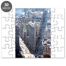 The Flatiron Building New York City Puzzle
