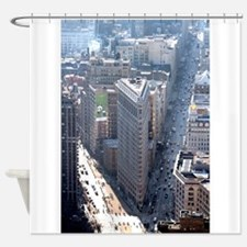 The Flatiron Building New York City Shower Curtain