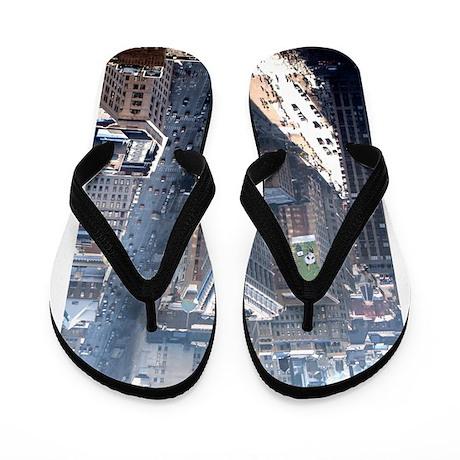 The Flatiron Building New York City Flip Flops