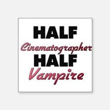 Half Cinematographer Half Vampire Sticker