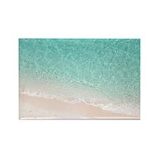 Bermuda Beach - Rectangle Magnet